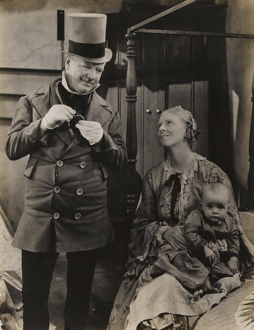 W C. Fields with Jean Cadell