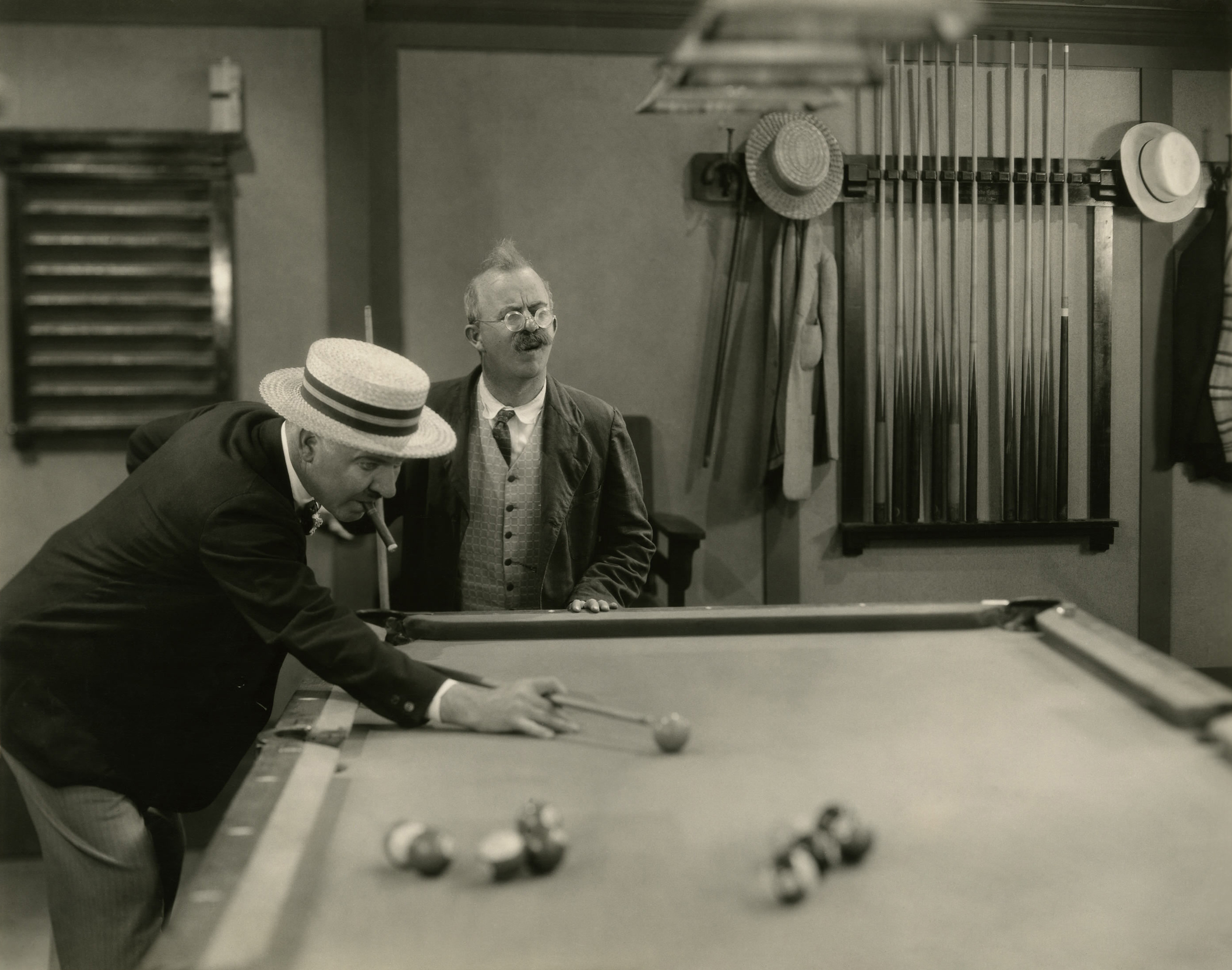 W C. Fields With Chester Conklin