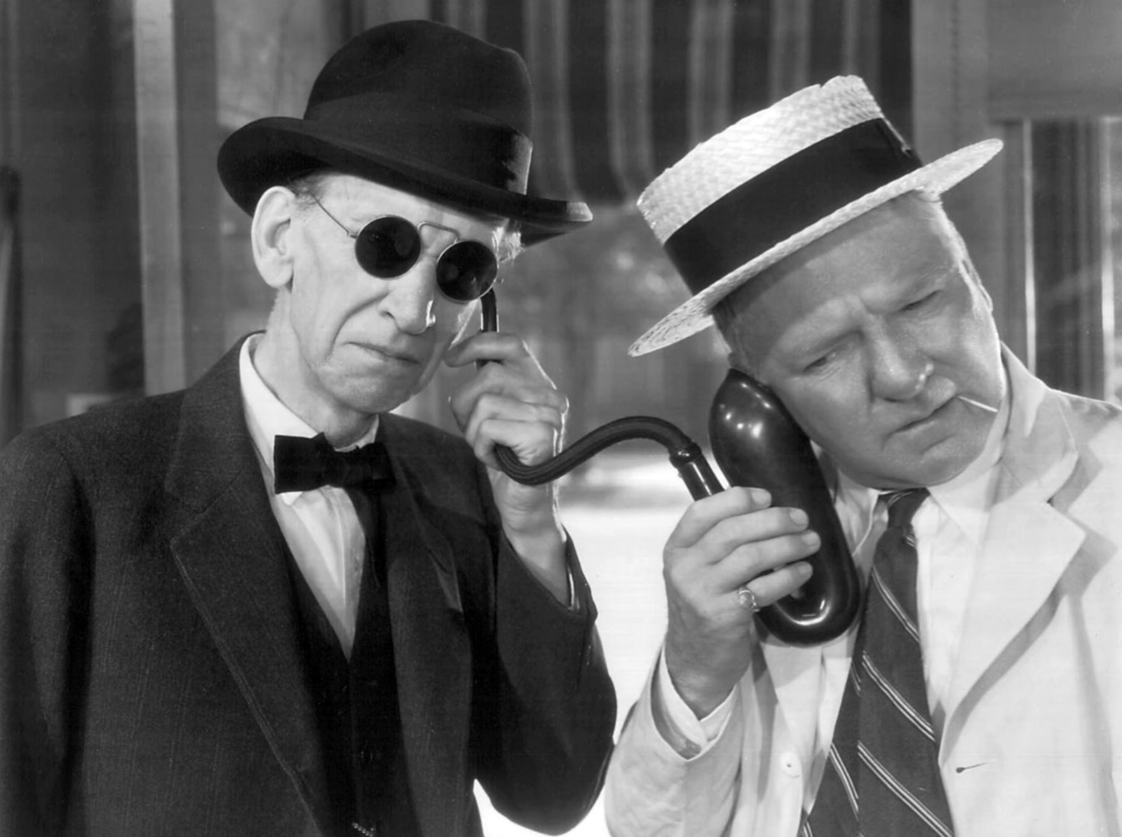 W C. Fields With Charles Sellon.