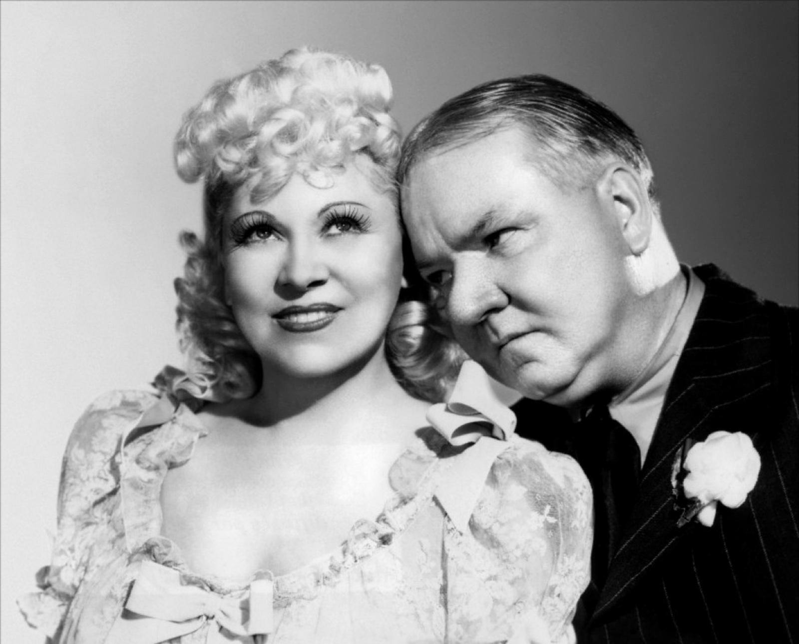 W C. Fields With Mae West
