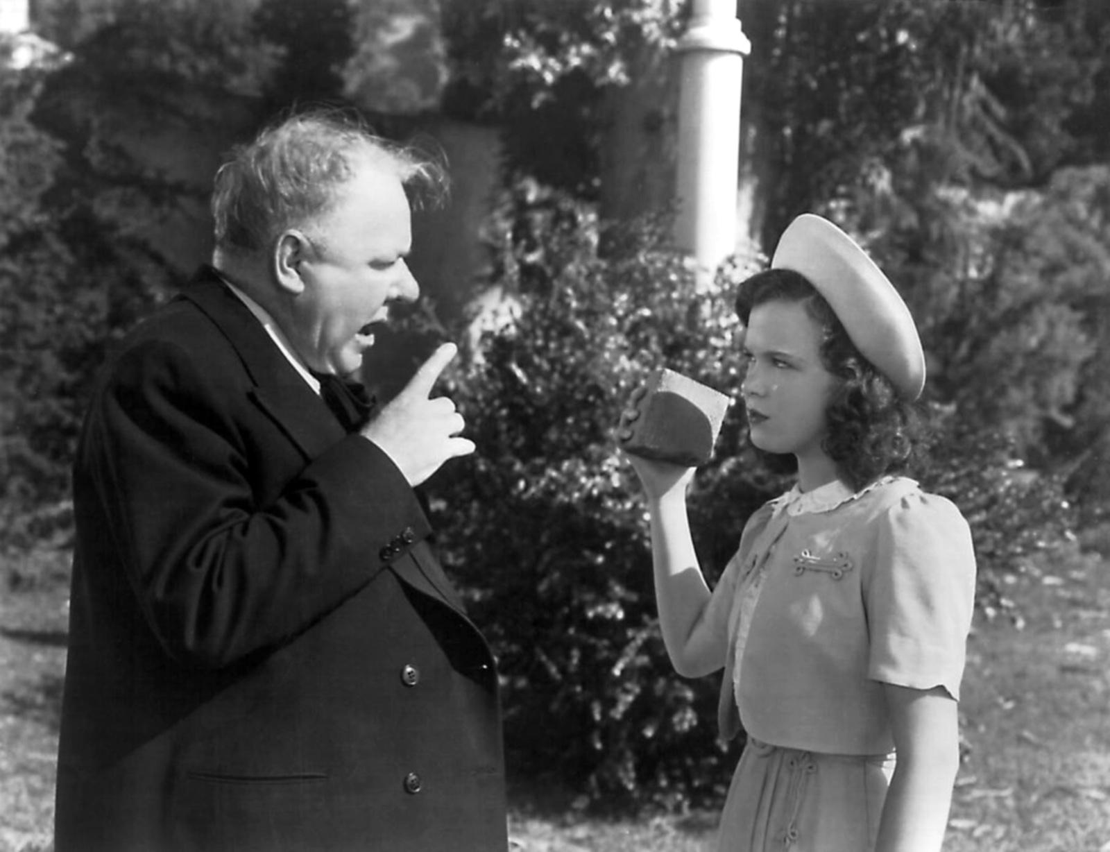 W C. Fields With Gloria Jean