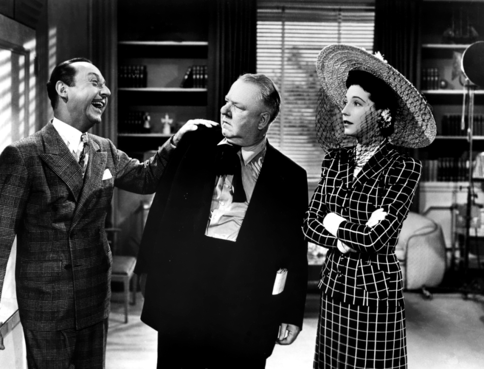 W C. Fields With Mona Barrie and Franklin Pangborn,