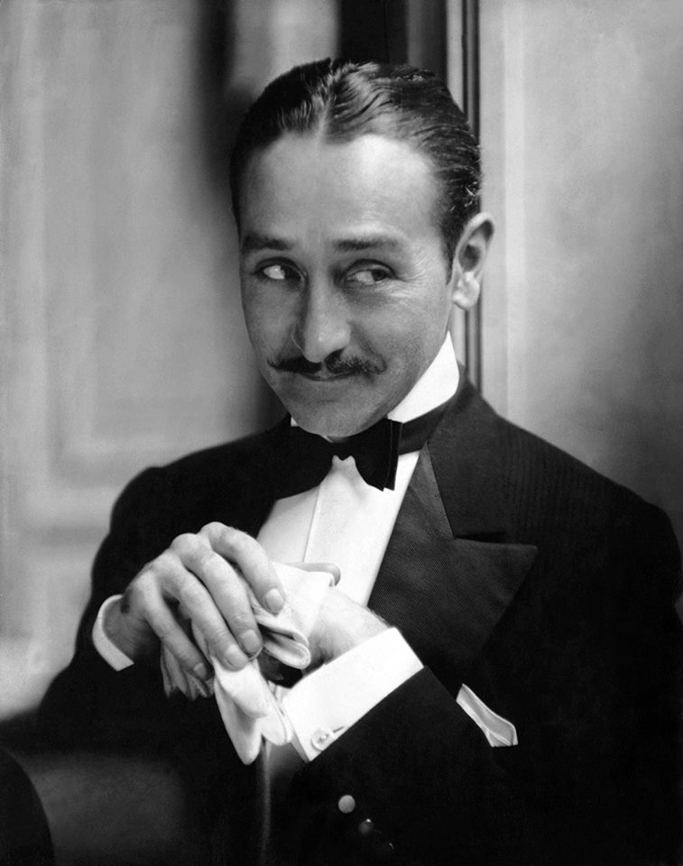 Adolphe Menjou - Known as a suave and debonair ladies man, Adolphe Menjou's career spanned both silent films and talkies