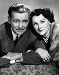 The Halls of Ivy, a college-based sitcom starring Ronald Colman and Benita Hume,