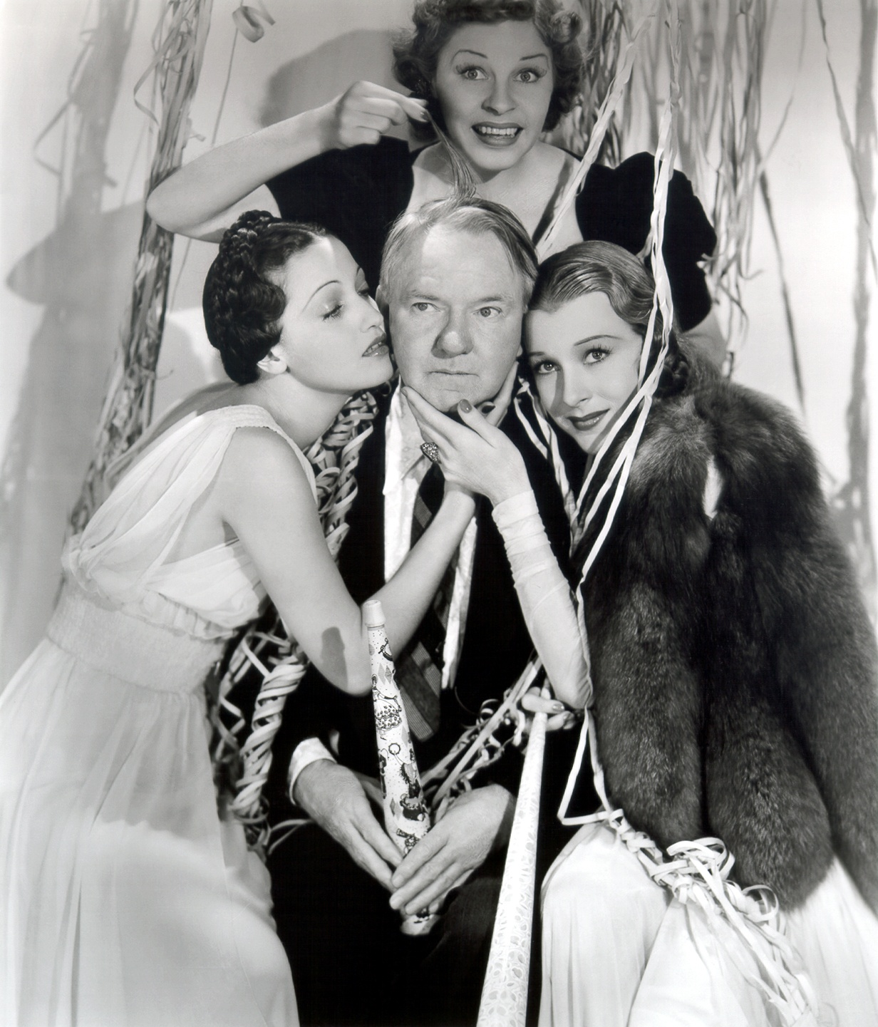 W.C. Fields Dorothy Lamour, Martha Raye, Shirley Ross