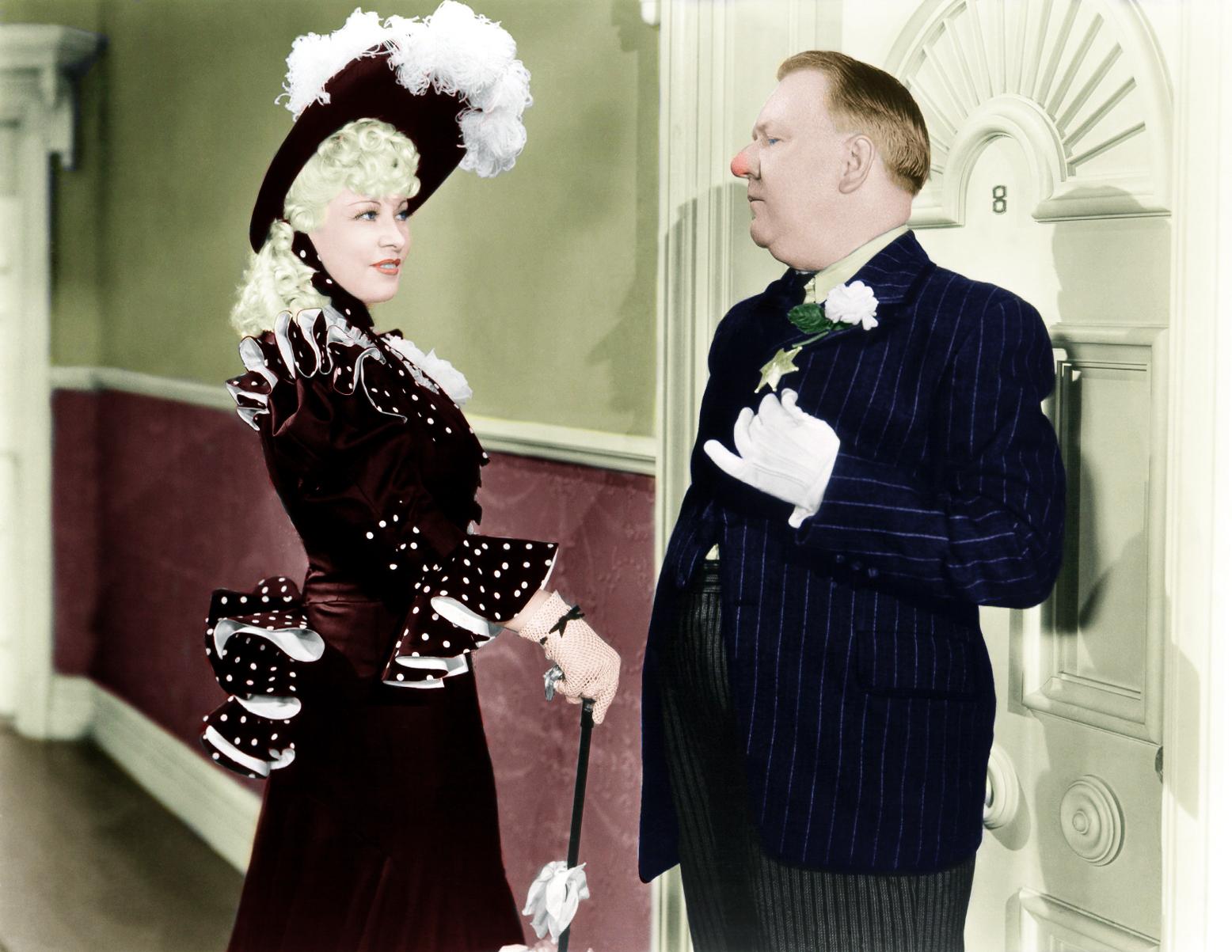 W.C. Fields With Mae West