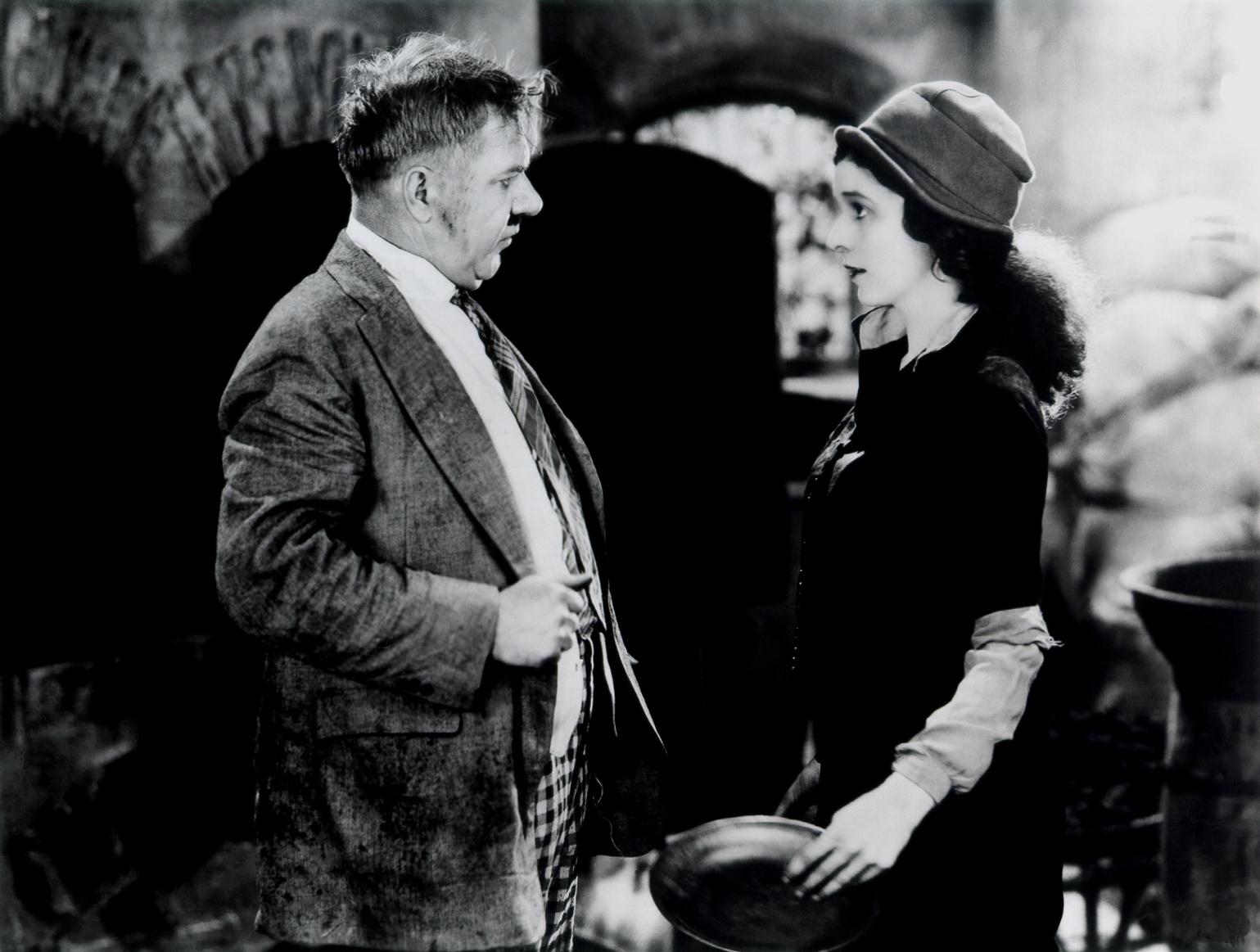 W.C. Fields With Carol Dempster