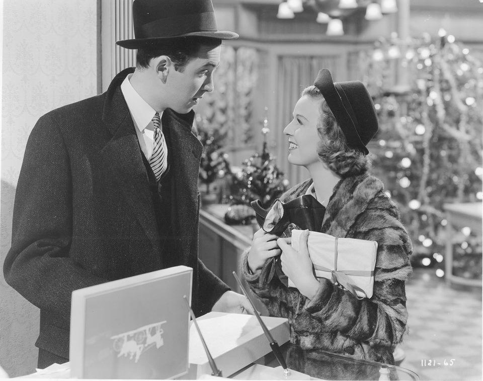 Jimmy Stewart and Margaret Sullavan