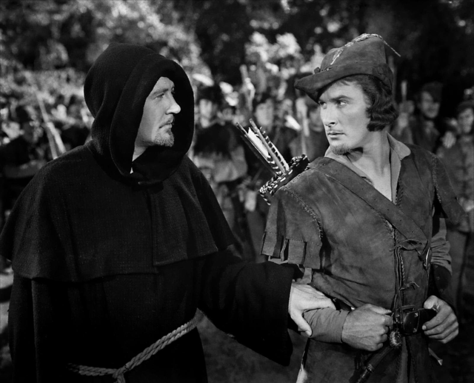 Errol Flynn with Ian Hunter