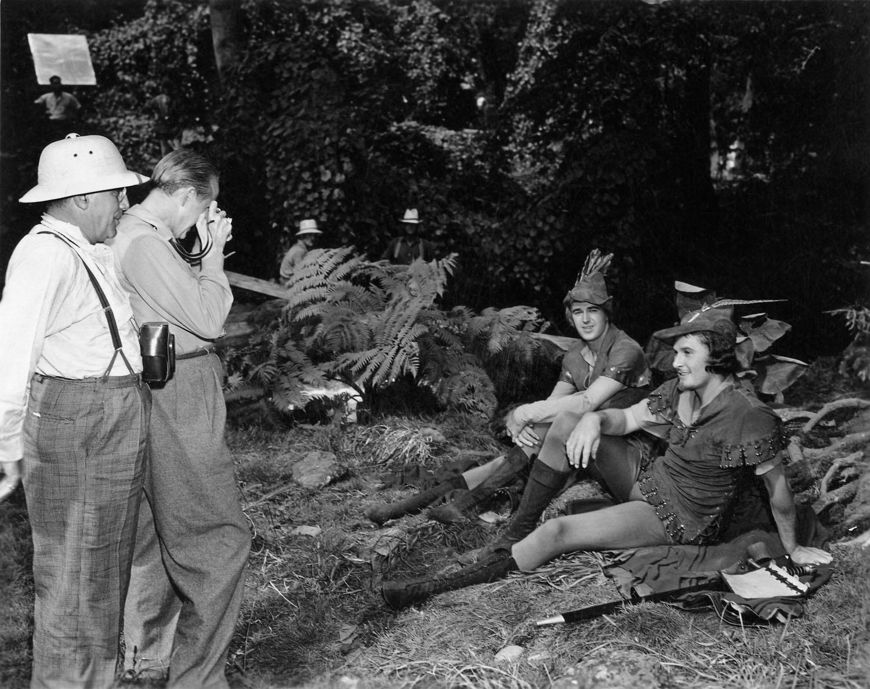 Errol Flynn With Patric Knowles
