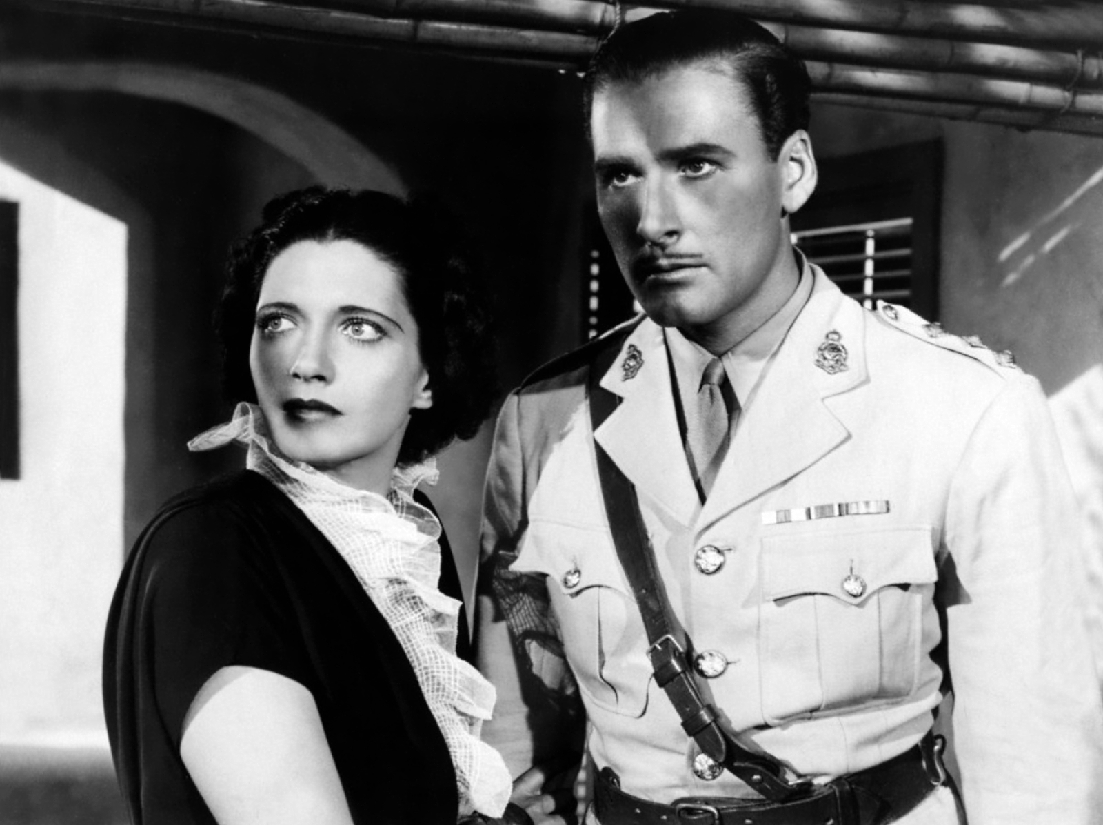 Errol Flynn With Kay Francis