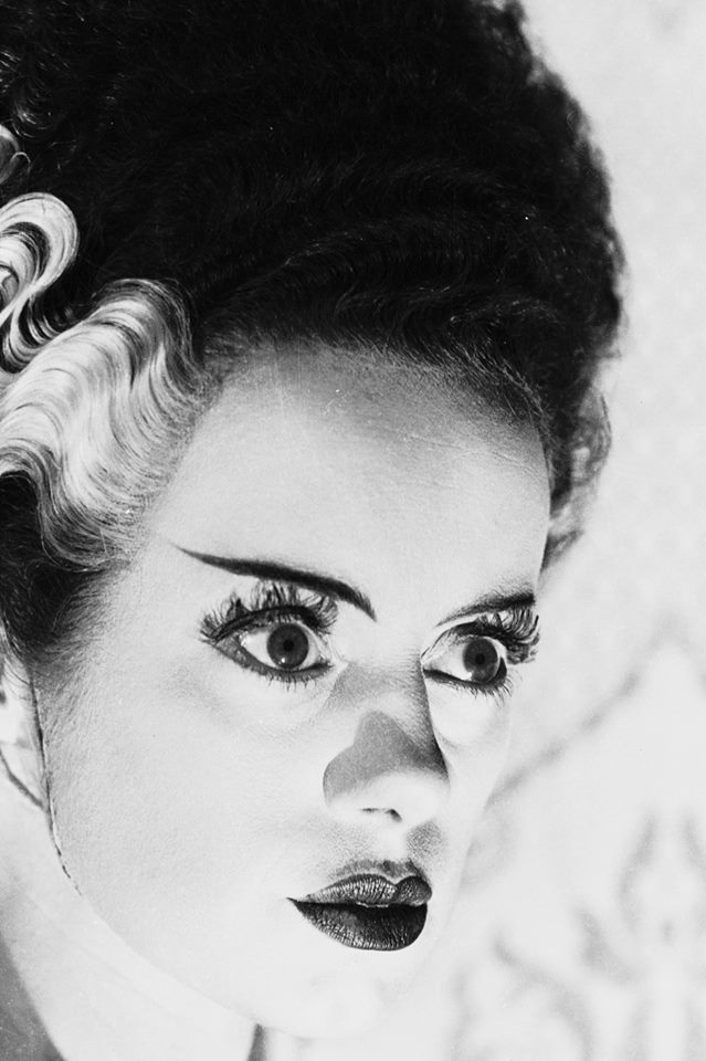 Elsa Lanchester..Publicity photo of Elsa Lanchester for Bride of Frankenstein (1935).