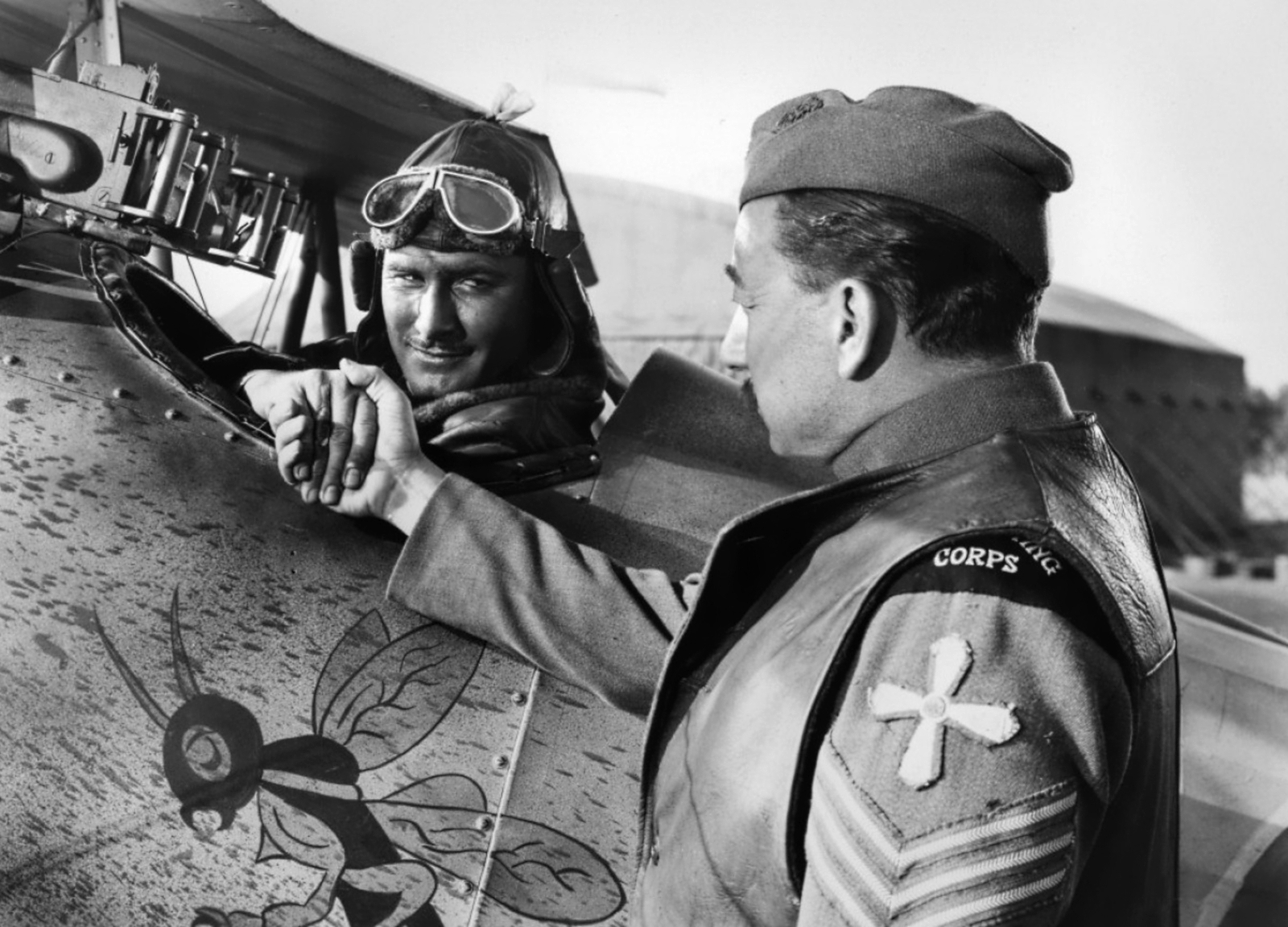 Errol Flynn With Melville Cooper