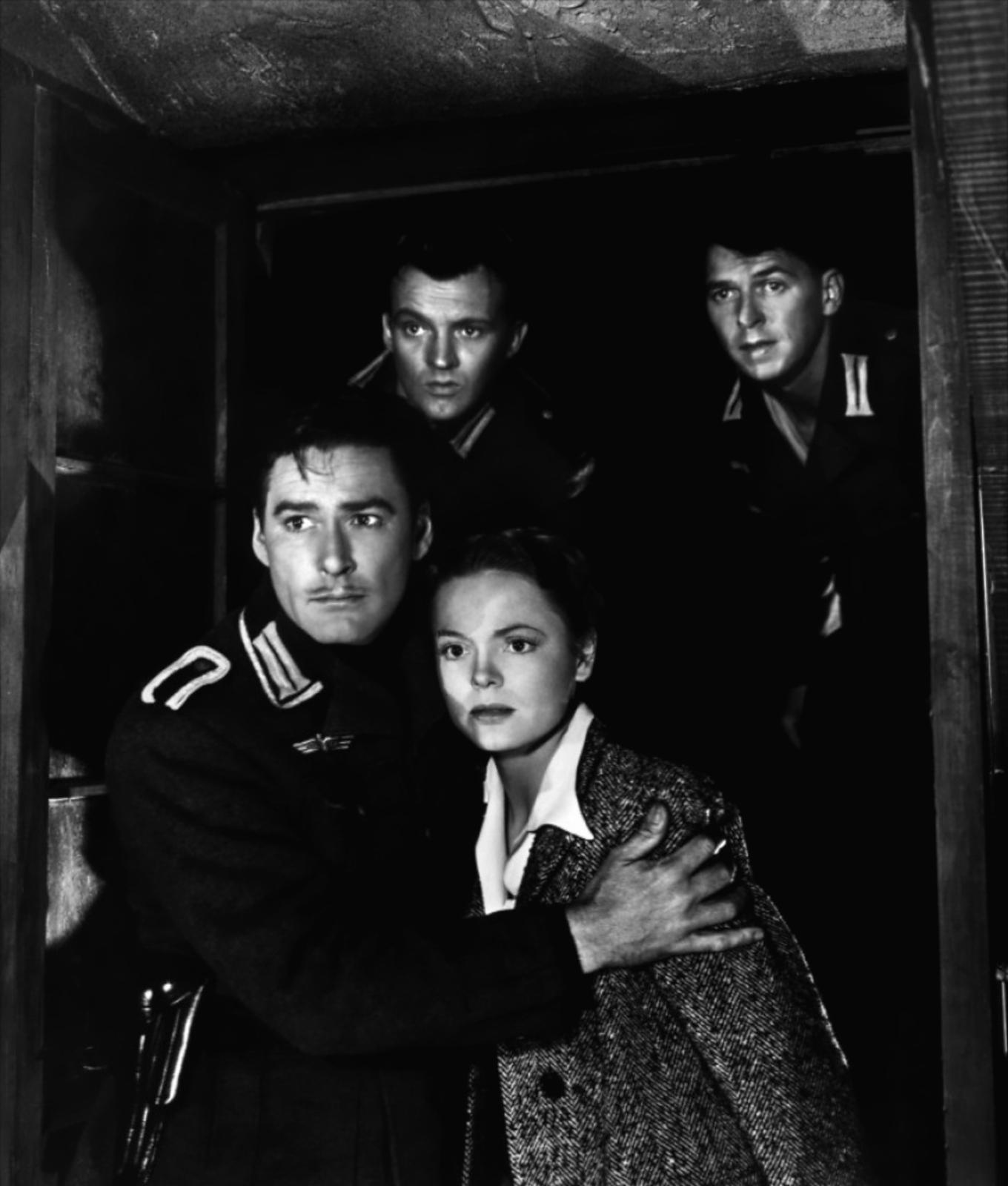 Errol Flynn, Ronald Sinclair, Nancy Coleman, Ronald Reagan