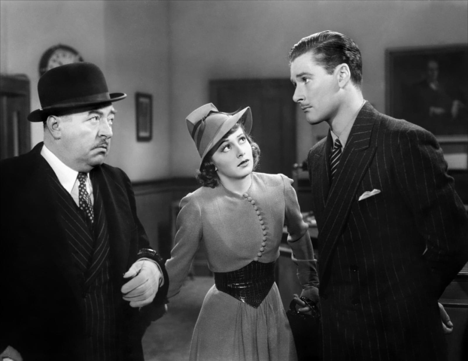 Walter  Connolly, Olivia de Havilland, Errol Flynn