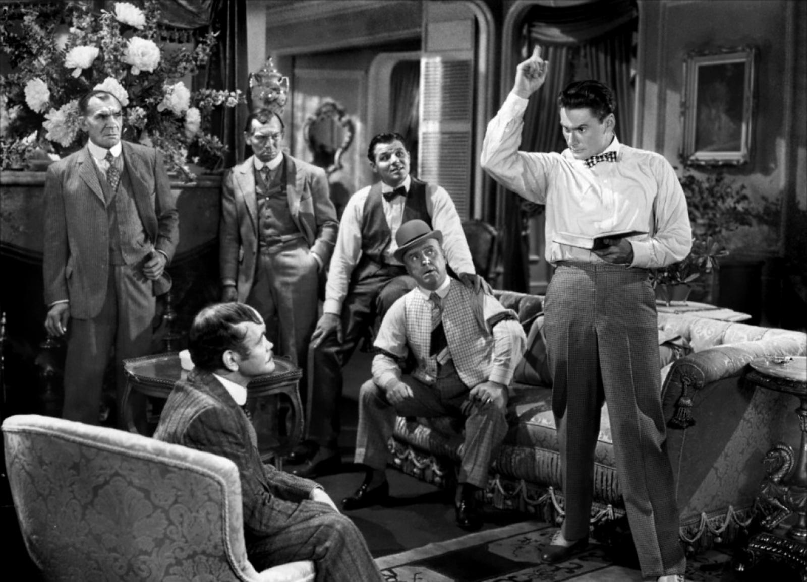 Errol Flynn With Jack Carson, William Frawley