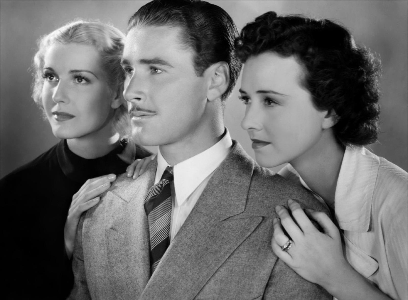 Anita Louise, Errol Flynn, Margaret Lindsay