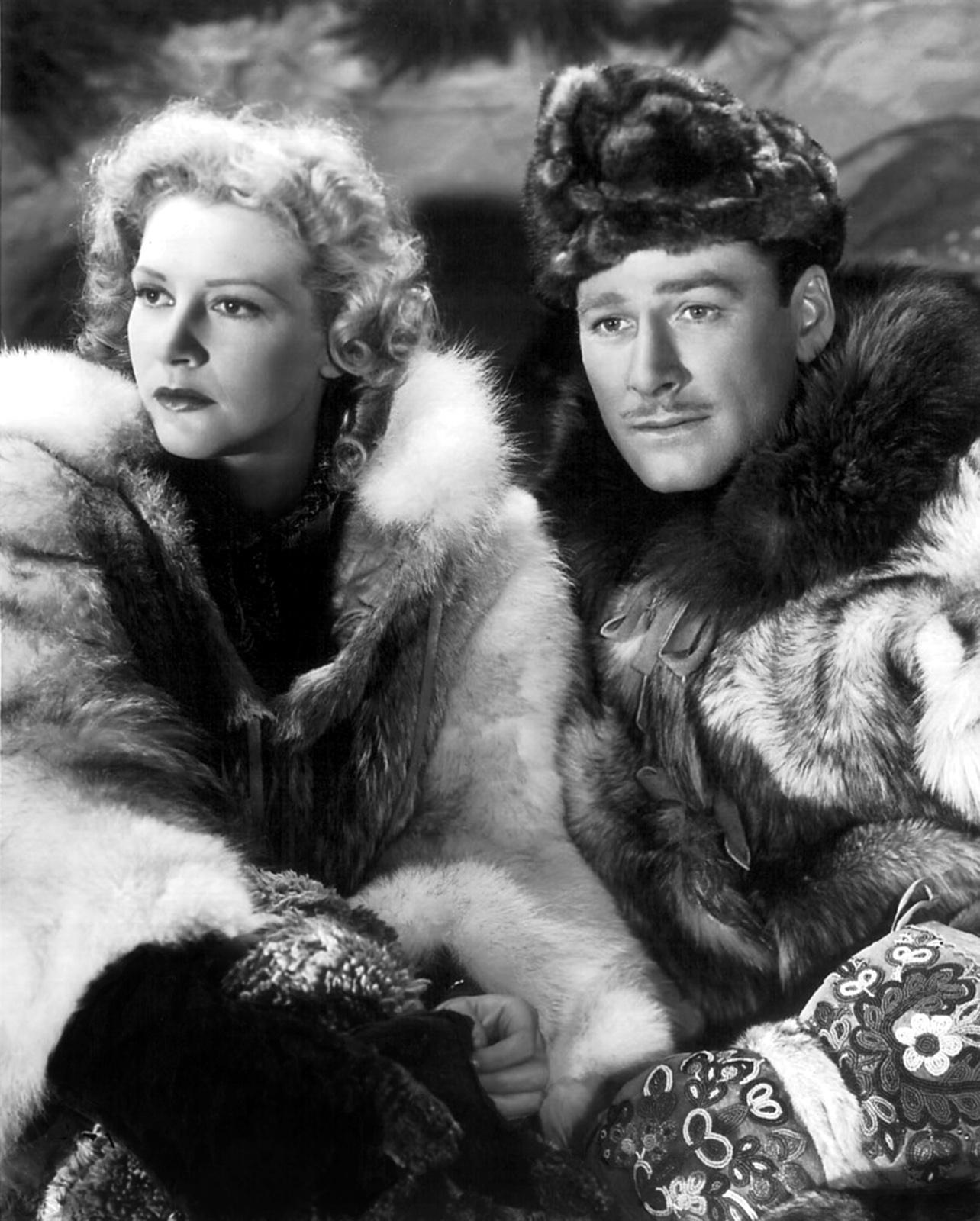 Errol Flynn With Julie Bishop