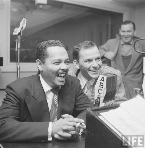 Billy Eckstine and Frank Sinatra