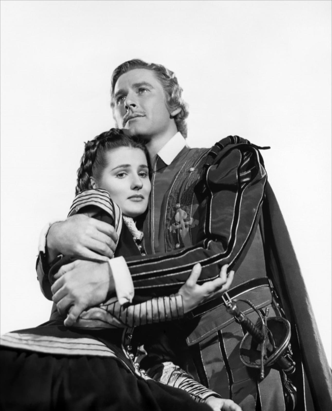 Errol Flynn With Brenda Marshall