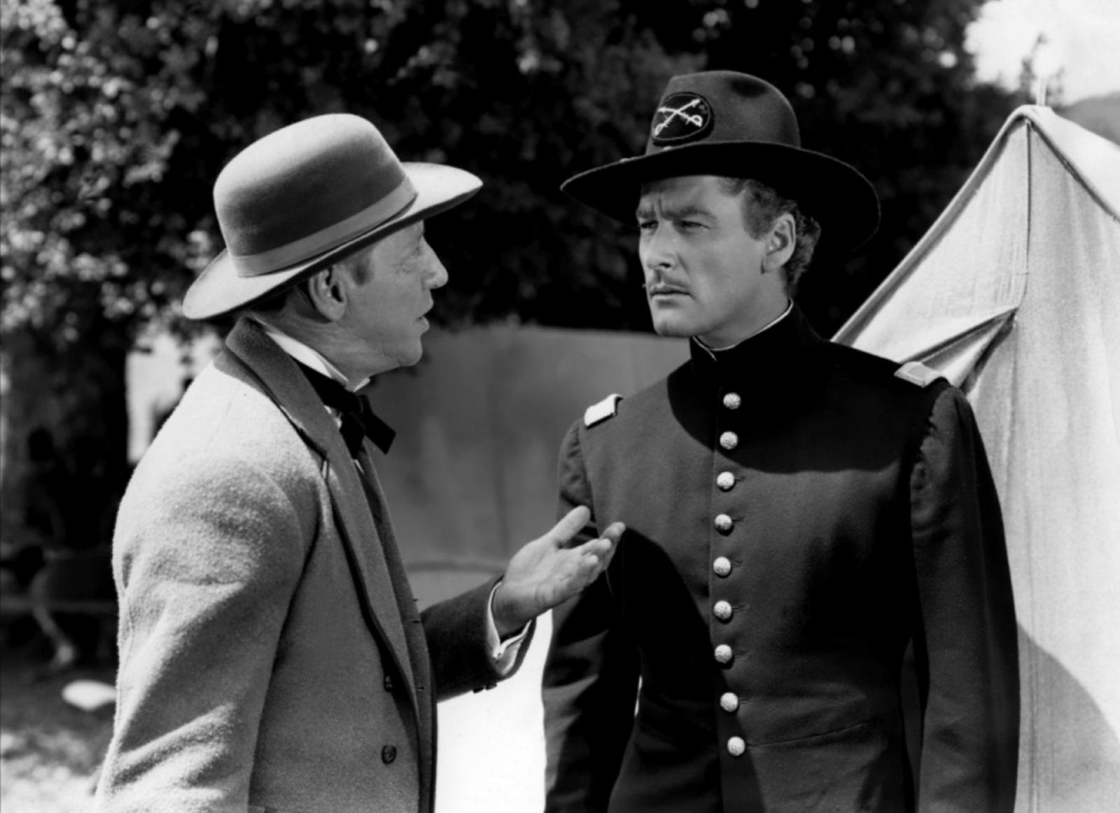 Errol Flynn With Irving Bacon