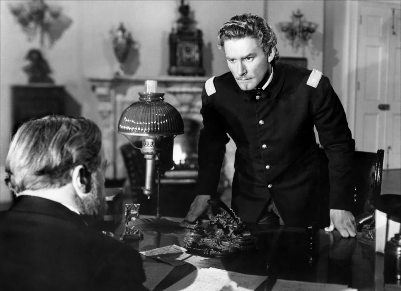 Errol Flynn With Joseph Crehan