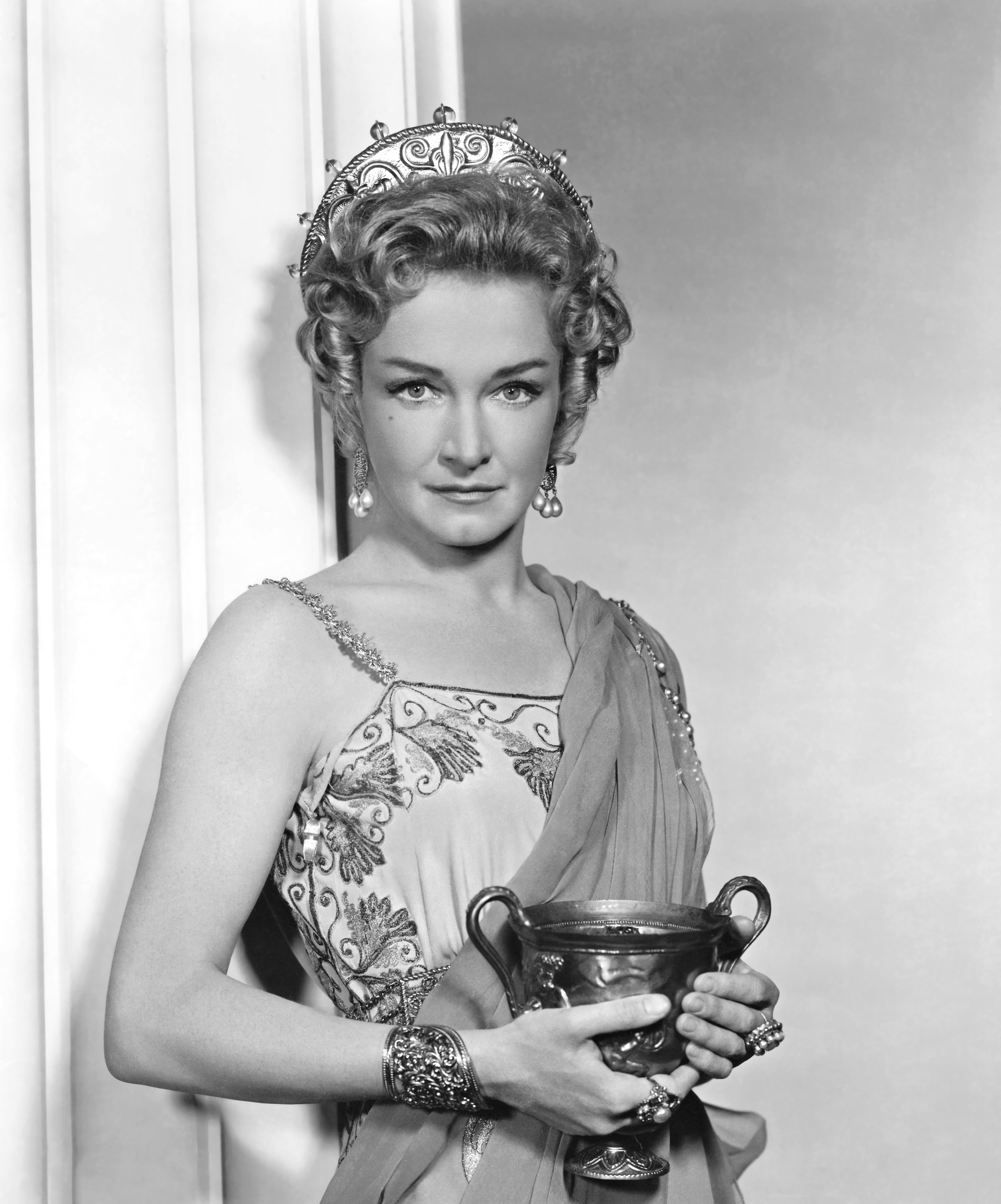 nina foch james lipton
