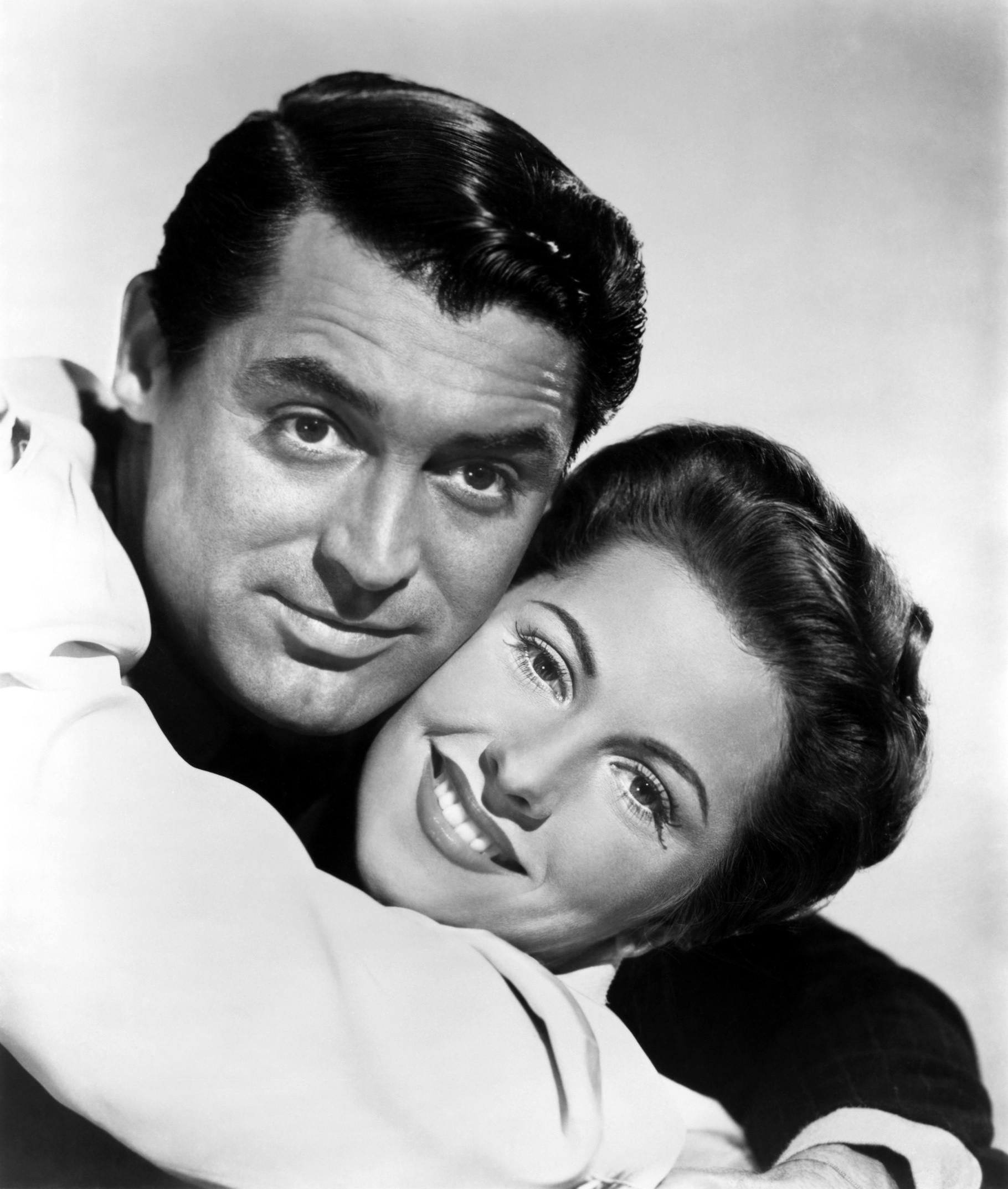 Joan Fontaine With Cary Grant