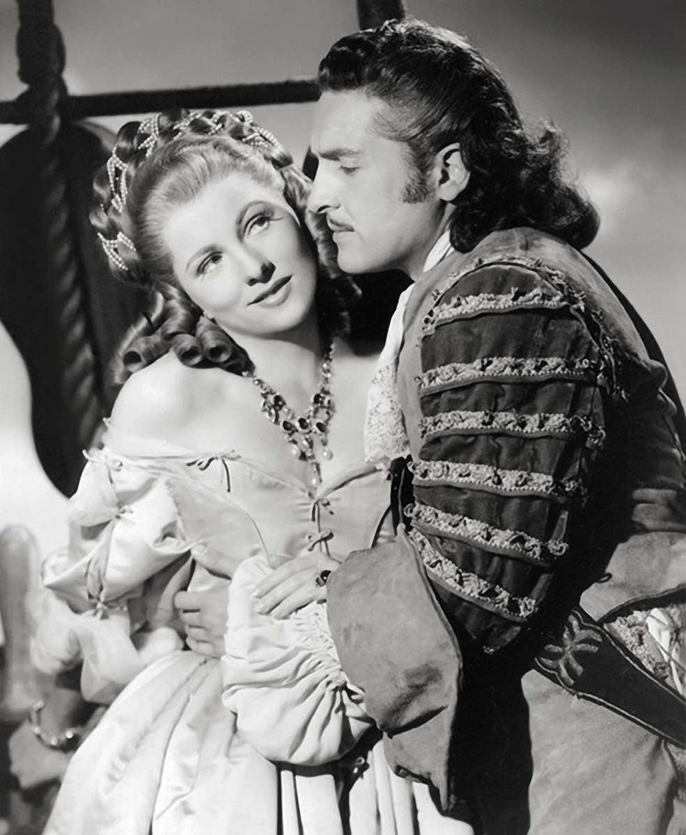 Joan Fontaine with Arturo de Córdova