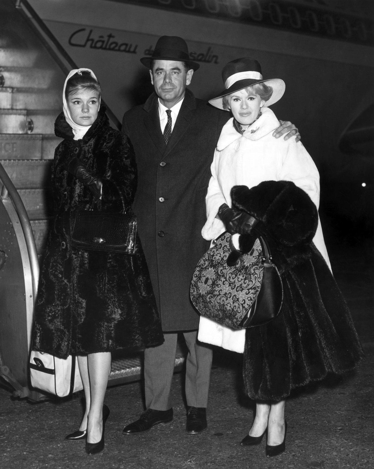 Yvette Mimieux, Glenn Ford, Connie Stevens