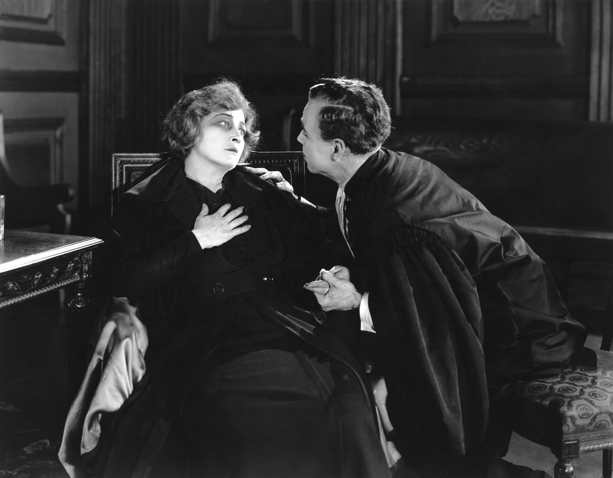 Pauline Frederick With Casson Ferguson