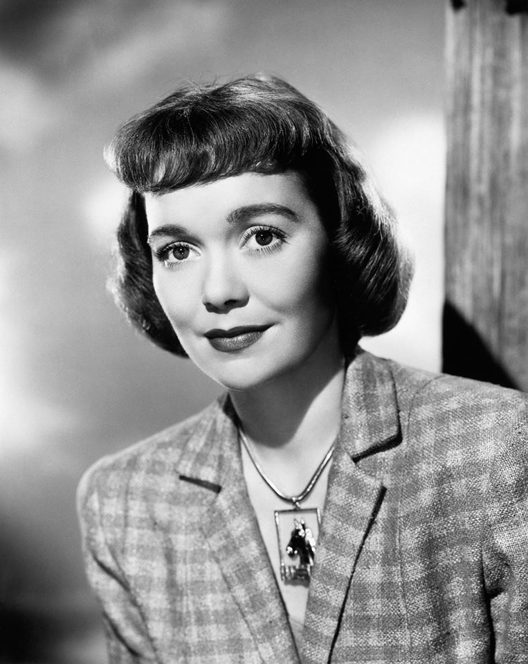 actress JANE WYMAN (1917 – 2007), who was born on January 5th. She received an Academy Award for Best Actress for her performance in Johnny Belinda (1948), and later achieved renewed success in the 1980s as Angela Channing on Falcon Crest. In 1939, Wyman starred in Torchy Plays With Dynamite. In 1941, she appeared in You're in the Army Now, in which she and Regis Toomey had the longest screen kiss in cinema history: 3 minutes and 5 second. Wyman finally gained critical notice in the film noir The Lost Weekend (1945). She was nominated for the 1946 Academy Award for Best Actress for The Yearling and won two years later for her role as a deaf-mute rape victim in Johnny Belinda (1948). Jane worked with such directors as Alfred Hitchcock on Stage Fright (1950), Frank Capra on Here Comes the Groom (1951) and Michael Curtiz on The Story of Will Rogers (1952). She starred in The Glass Menagerie (1950), Just for You (1952), Let's Do It Again (1953), The Blue Veil (1951) (another Oscar nomination), the remake of Edna Ferber's So Big (1953), Magnificent Obsession (1954) (Oscar nomination), Lucy Gallant (1955), All That Heaven Allows (1955), and Miracle in the Rain (1956). She replaced the ailing Gene Tierney in Holiday for Lovers (1959), and next appeared in Pollyanna (1960), Bon Voyage! (1962), and her final big screen movie, How to Commit Marriage (1969). She hosted an anthology television series, Jane Wyman Presents the Fireside Theater, for which she was nominated for an Emmy Award in 1957.