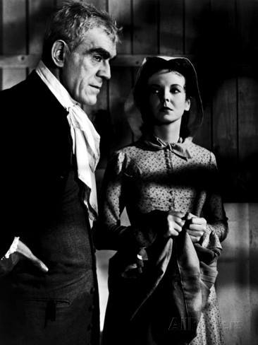 star Anna Lee worked for producer Val Lewton in the horror/thriller Bedlam (1946), starring Boris Karloff.