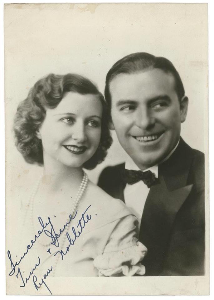 Tim Ryan and Irene Noblette.