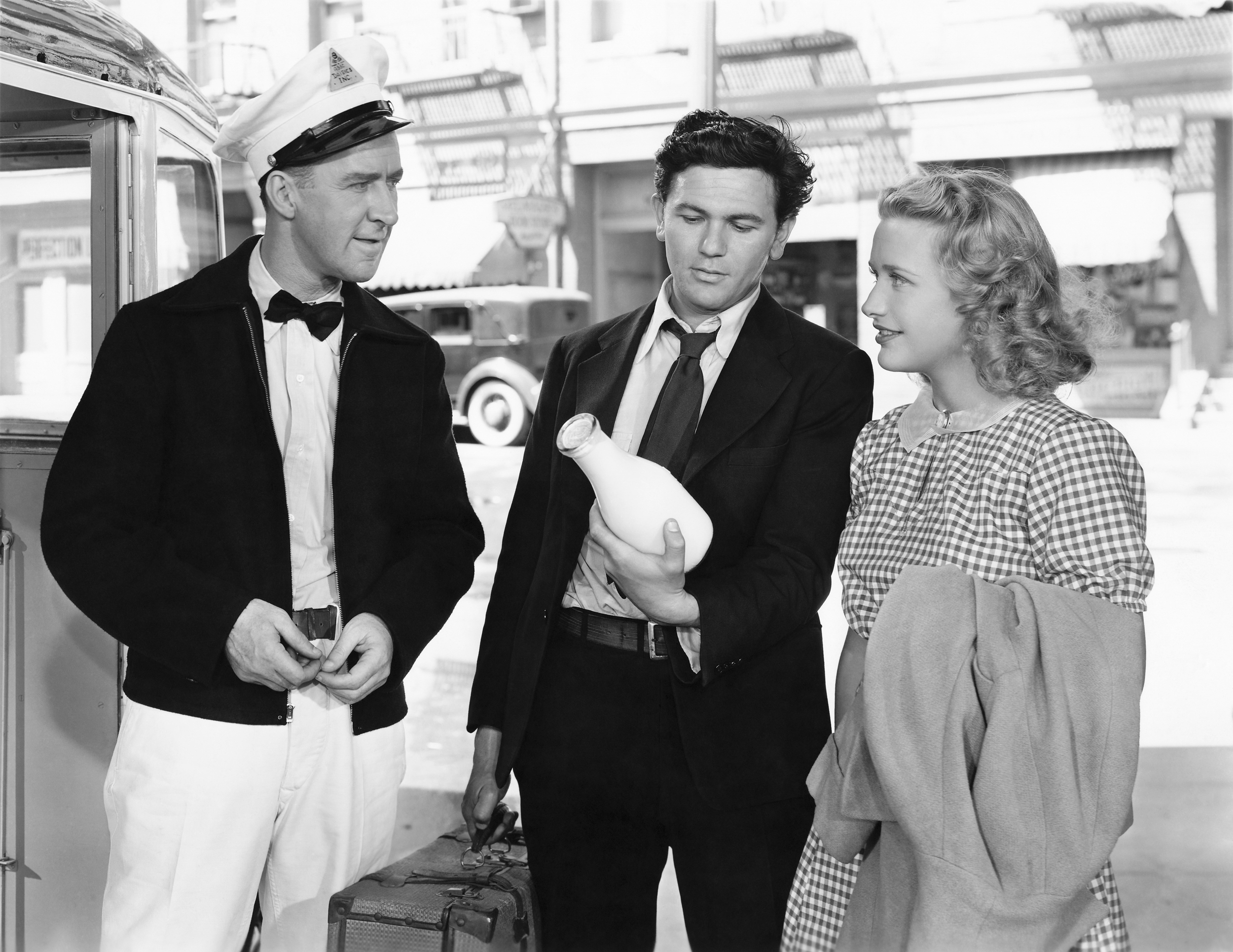 John Garfield...(L to R) Garry Owen, John Garfield, Priscilla Lane (sepia and XL versions) Courtesy of Sarah and Michelle