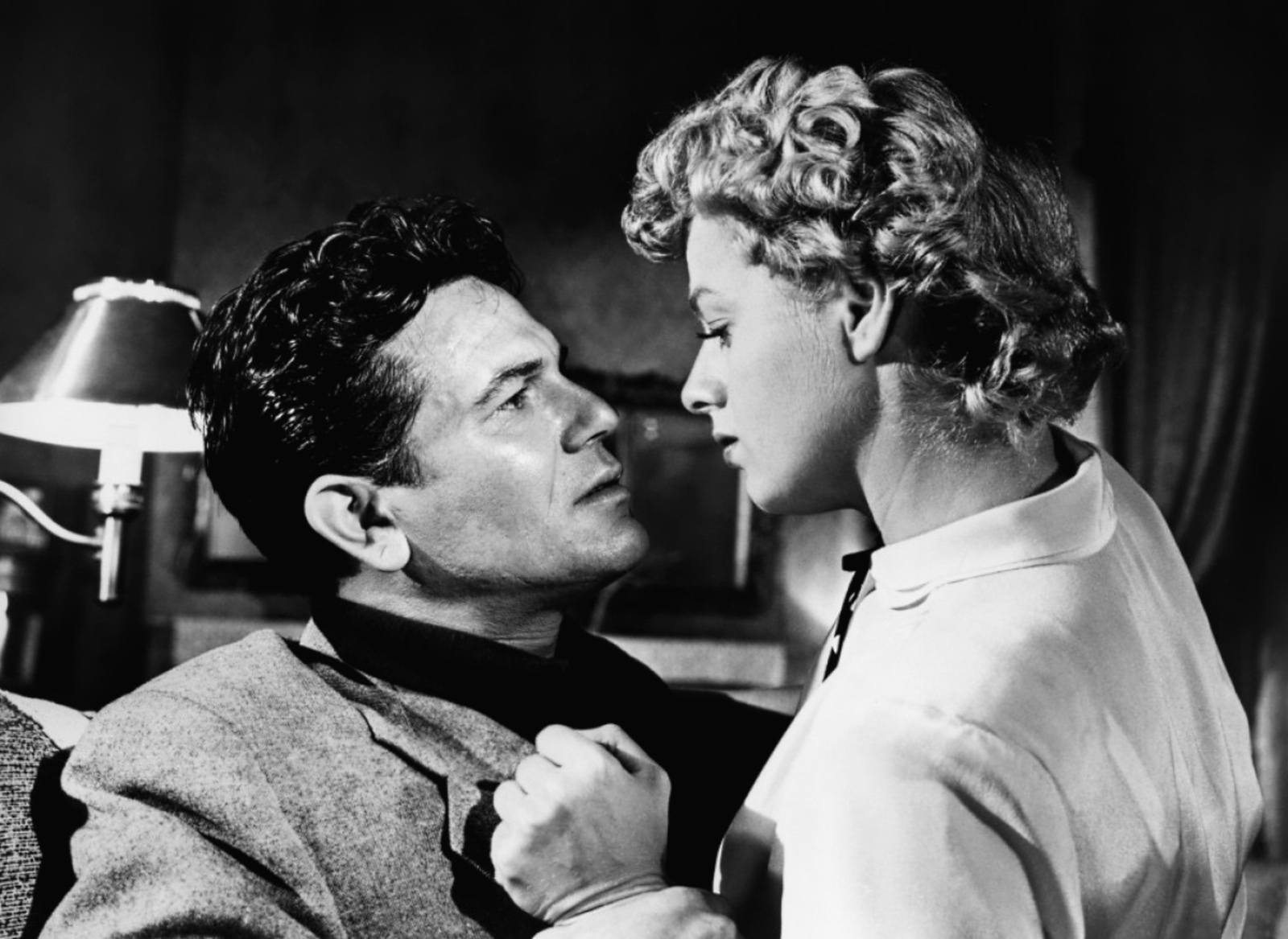 John Garfield..With Shelley Winters