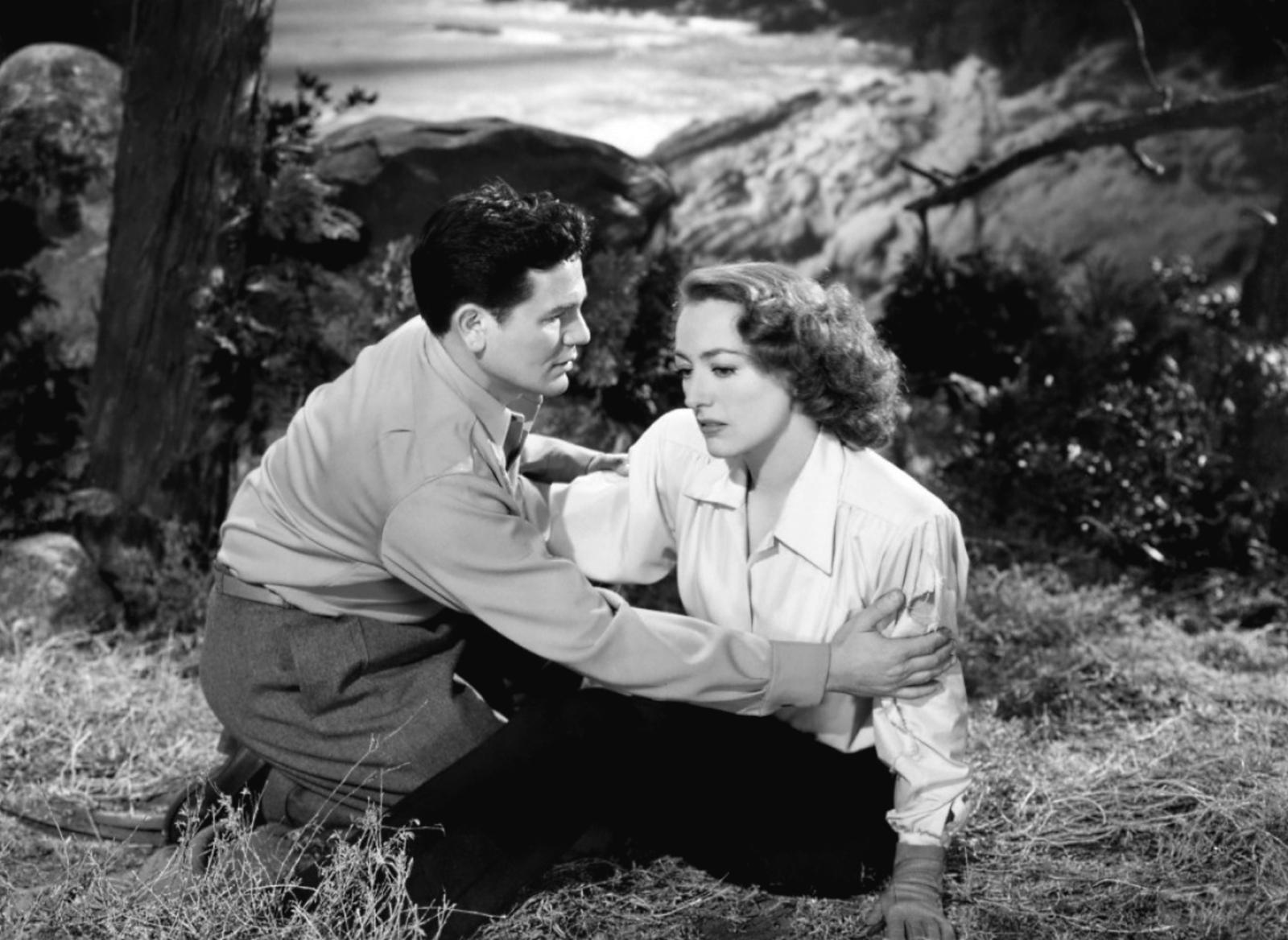 John Garfield...With Joan Crawford