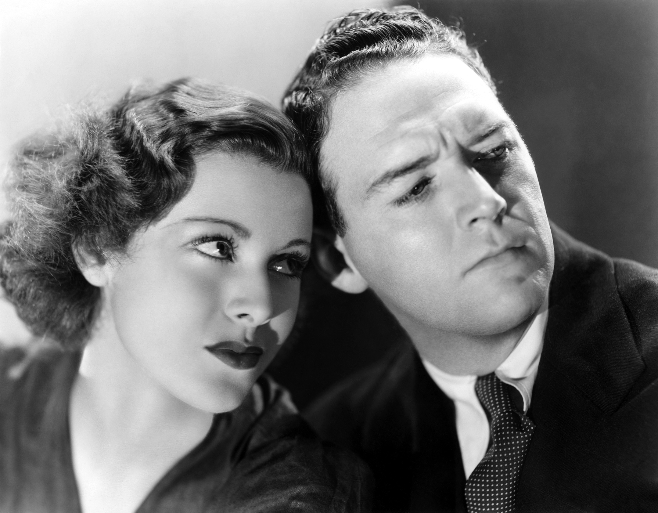 John Garfield....Headline Shooter with With Frances Dee