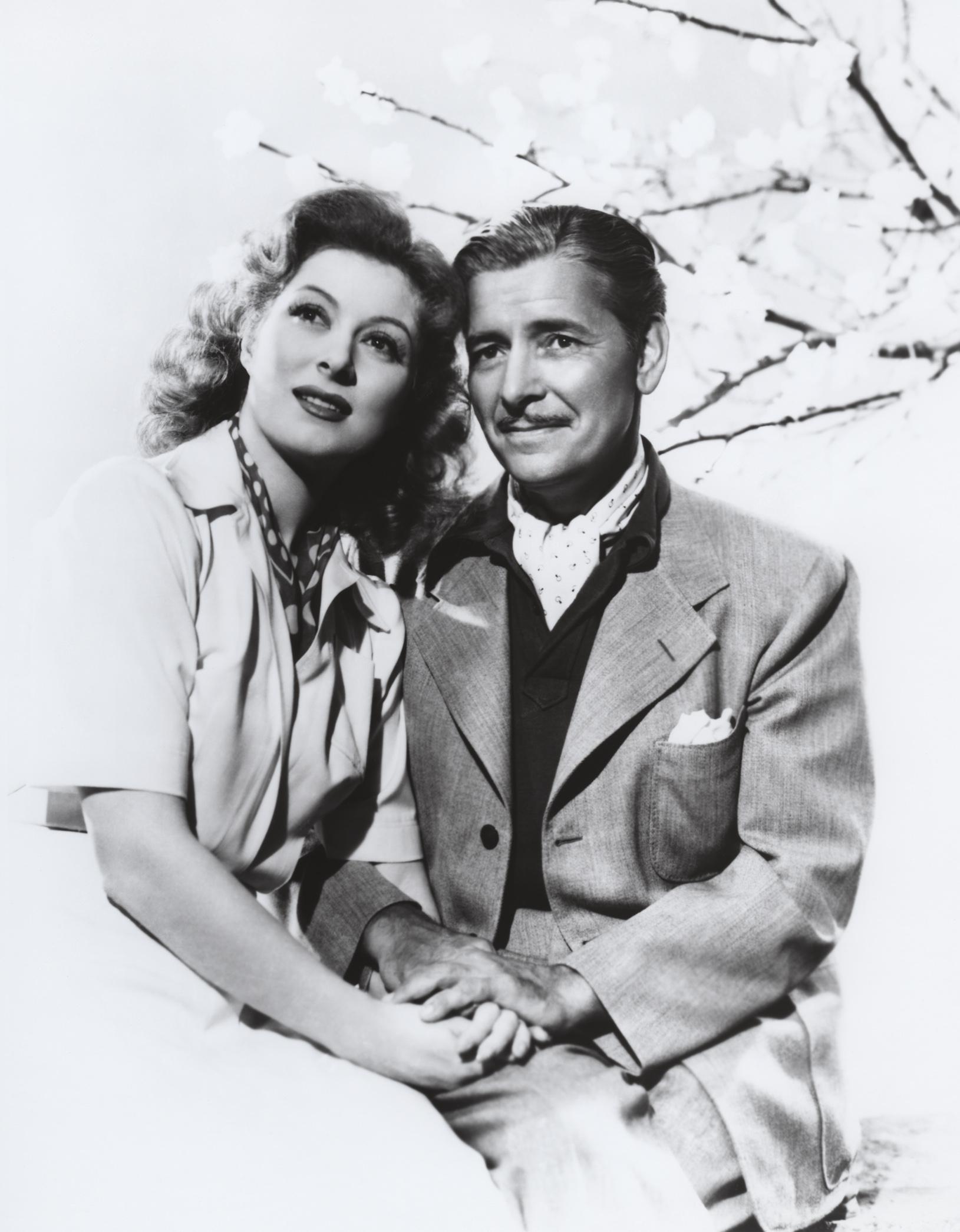 Greer Garson With Ronald Colman.