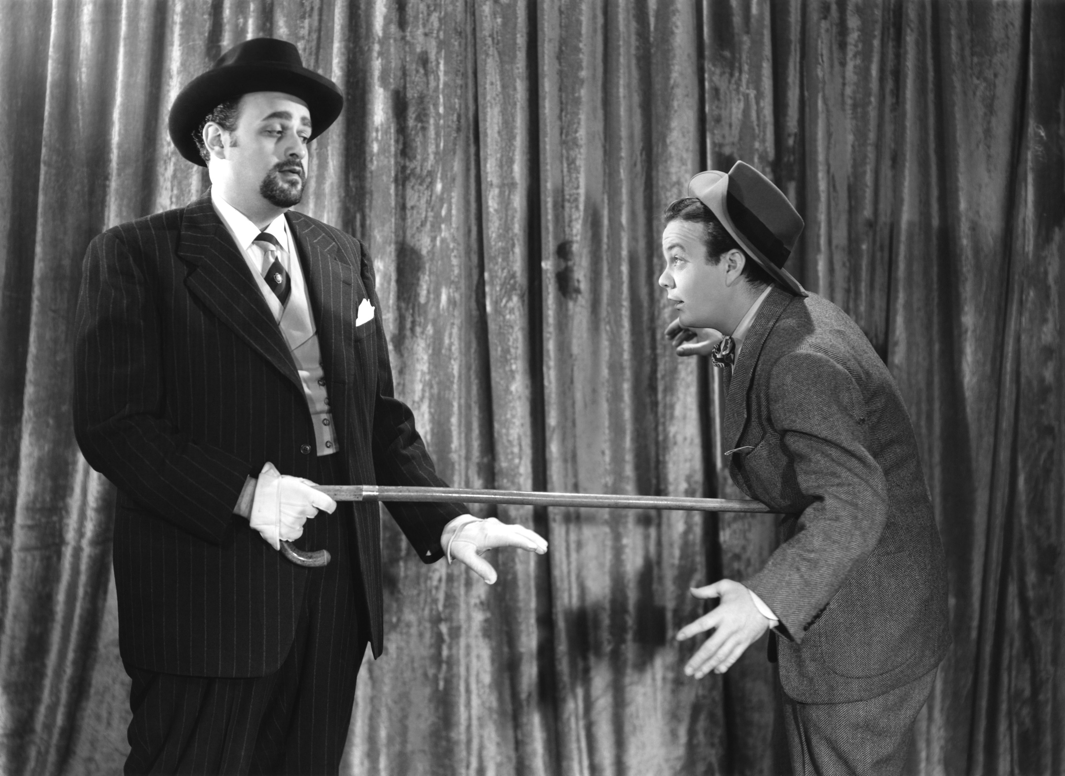 Leo Gorcey...With Dan Seymour (L)