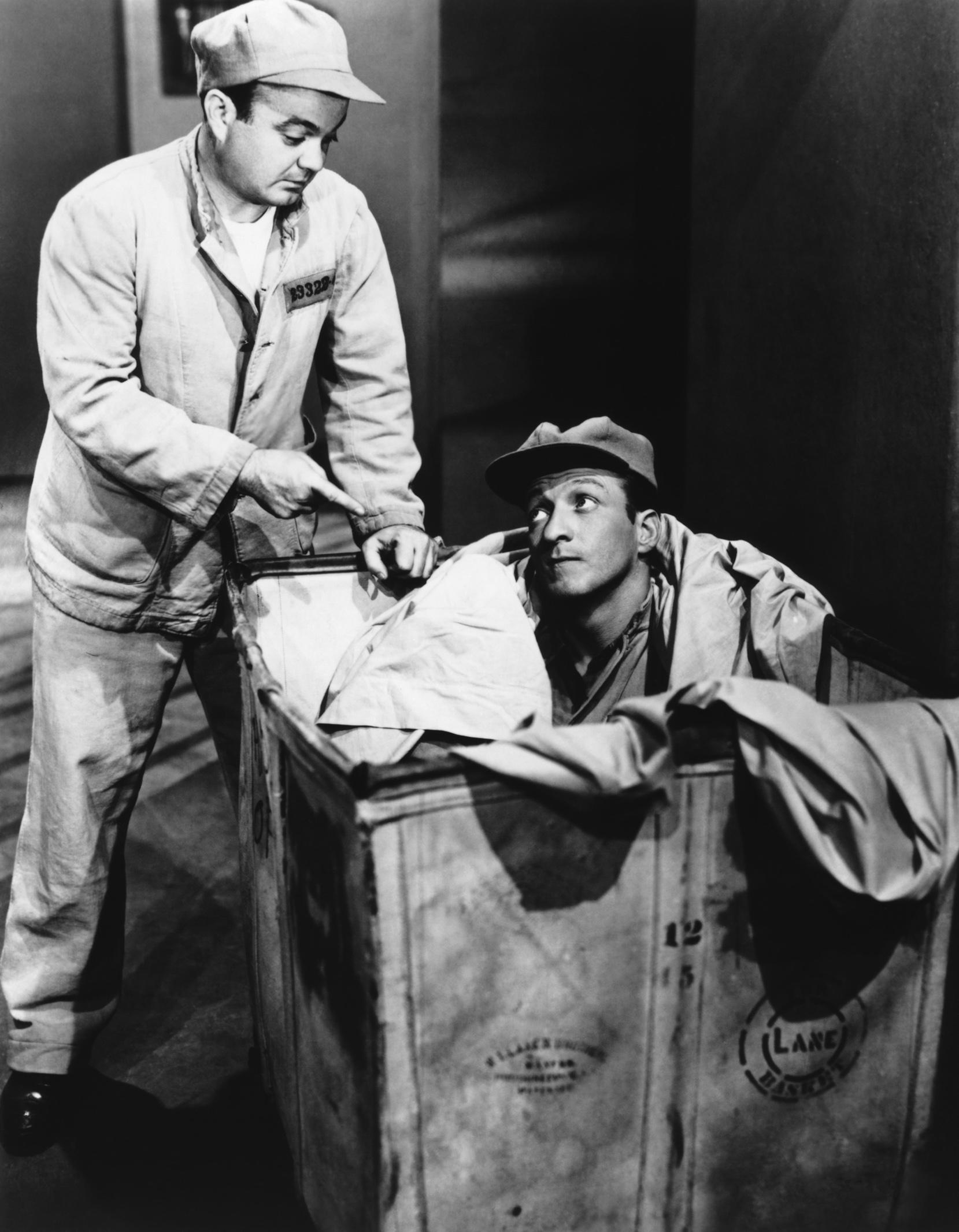 Leo Gorcey....With Huntz Hall (R)