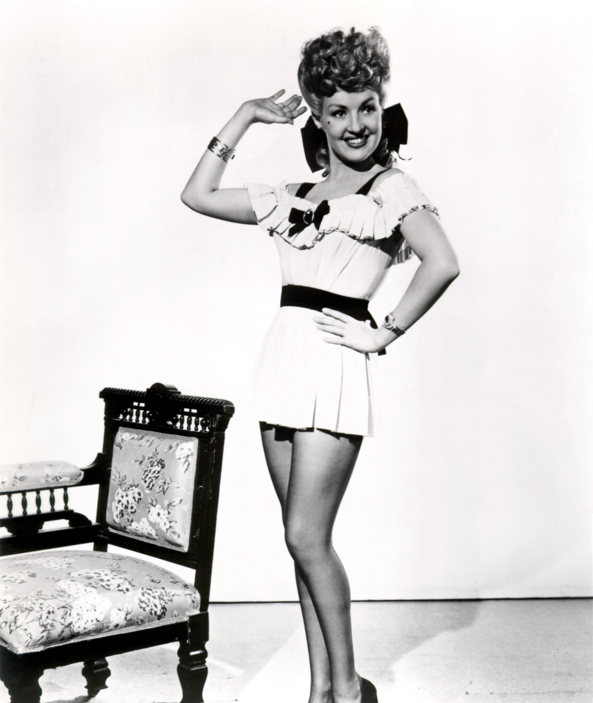Betty Grable in Coney Island