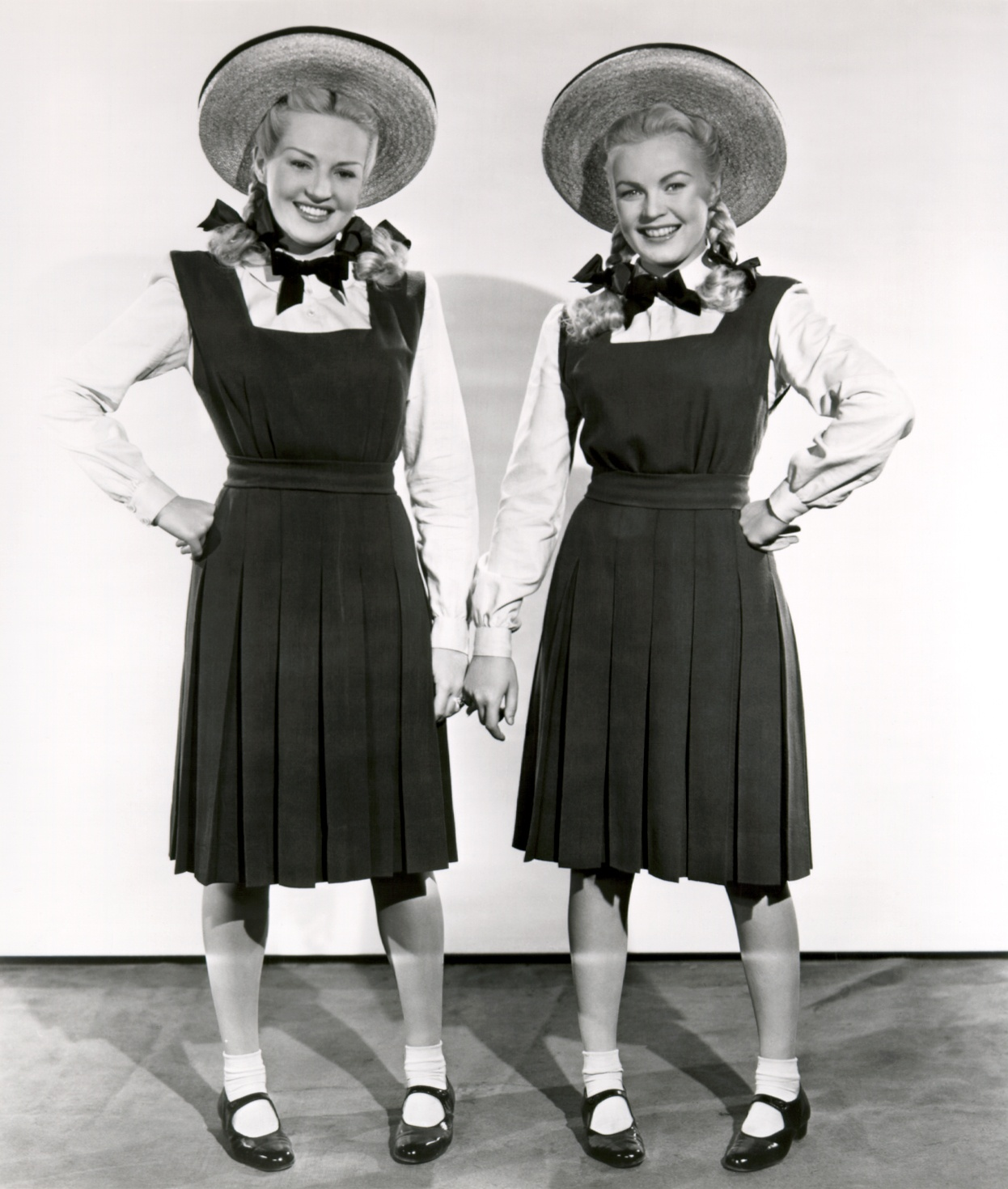 Betty Grable....With June Haver (R)