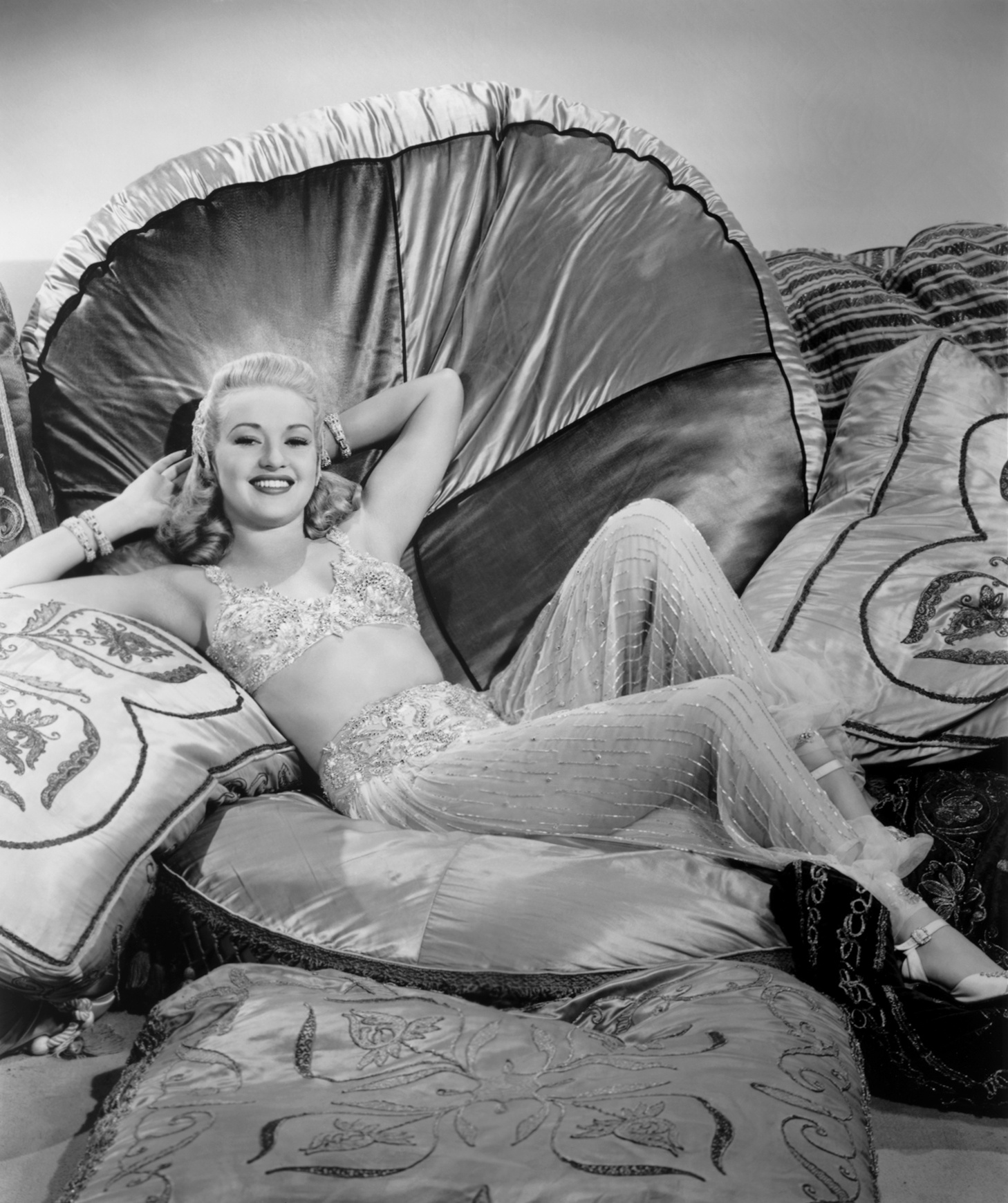 Betty Grable in Tin Pan Alley.