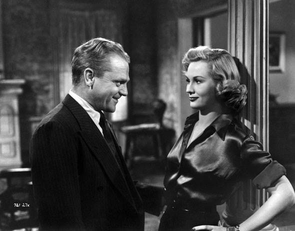 James Cagney and Virginia Mayo