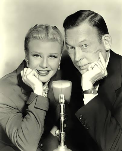 Ginger Rogers with Fred Allen
