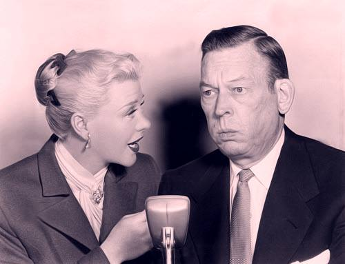 Ginger Rogers and Fred Allen.