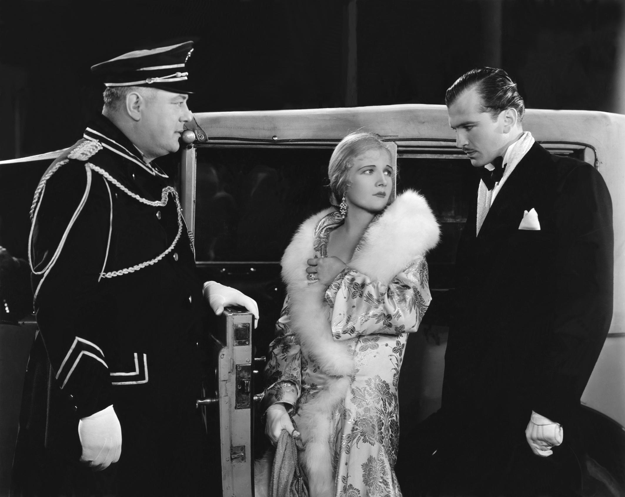 Ann Harding with John Loder (R)