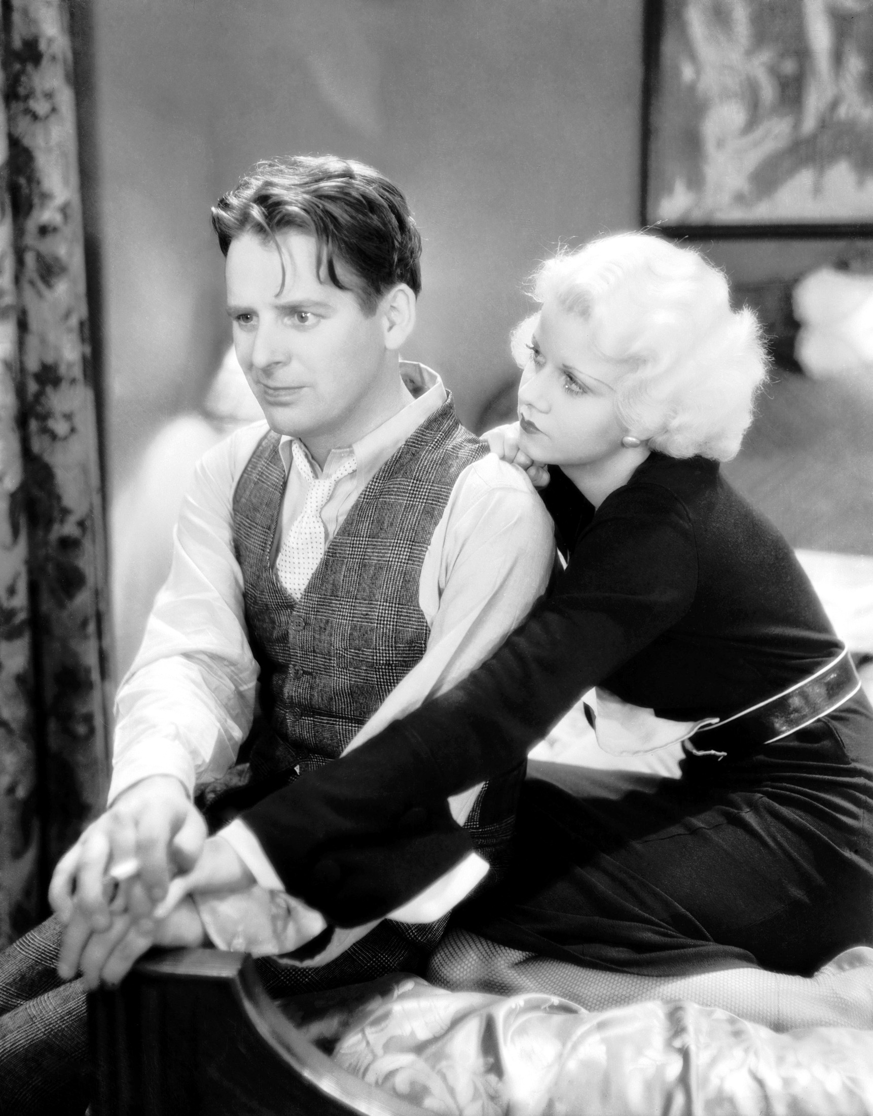 Jean Harlow in The Beast of the City with With Wallace Ford