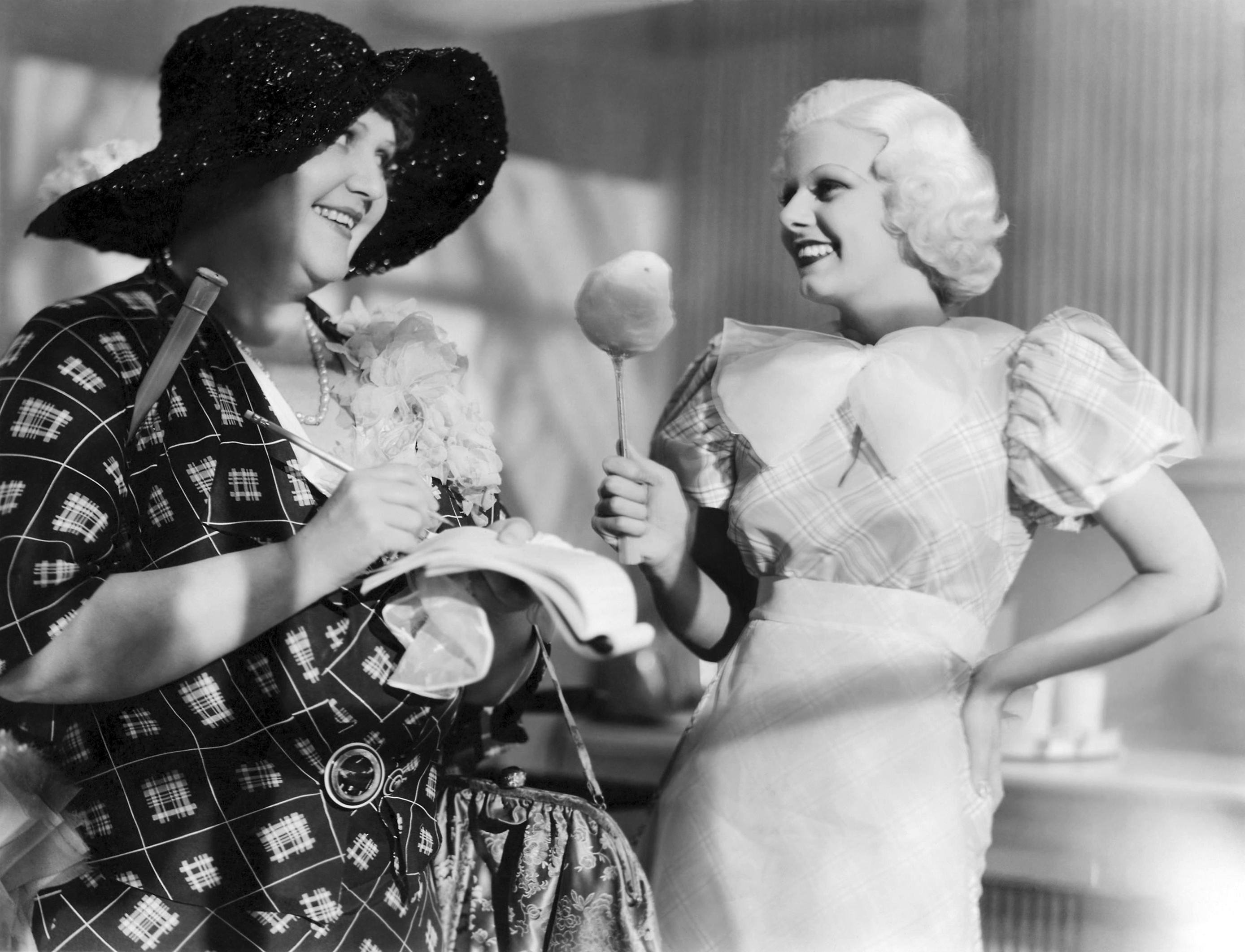 Jean Harlow in Bombshell With Mary Forbes (L)